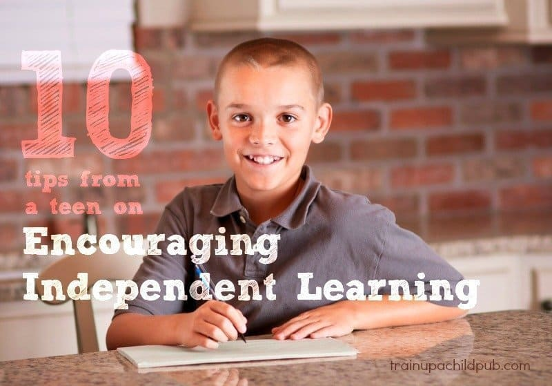 encourage independent learning in your kids