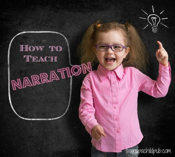How to teach narration