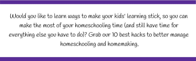 how to make a lapbook post graphic for 10 best homeschool hacks