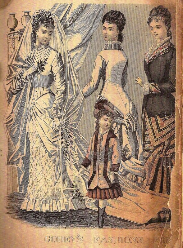 Victorian fashions!