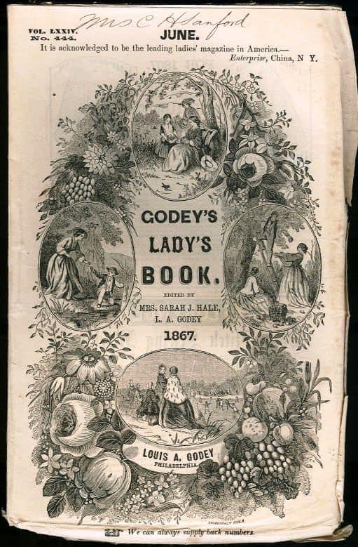 GodeysLadysBookCoverJune1867