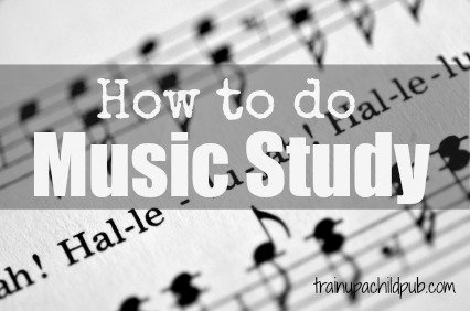 how to do music study