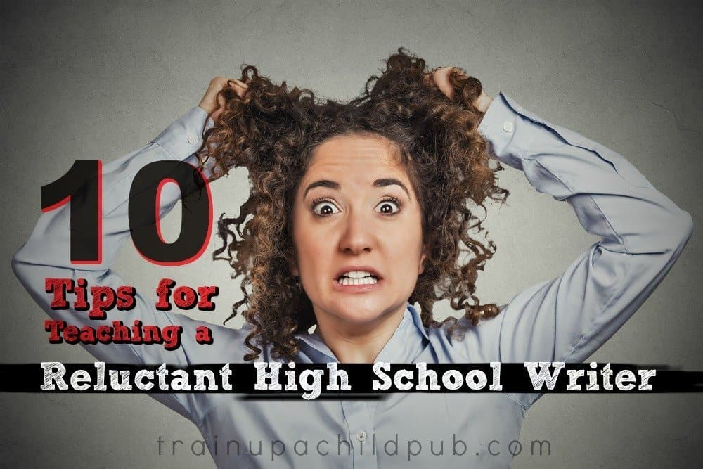 teaching a reluctant high school writer