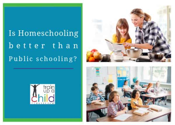 is homeschooling better final than public schooling