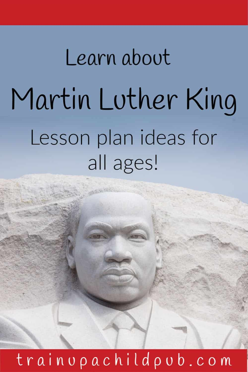 Learn about Martin Luther King- sculpture