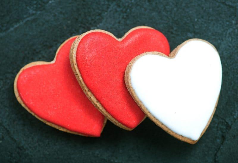 mini valentines day unit study valenines cookies