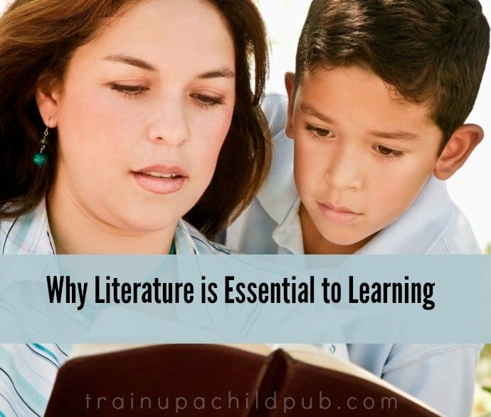 literature is essential to learning