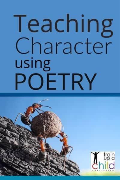 teaching character using poetry