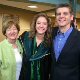 Aliece graduating from M.U.S.C.