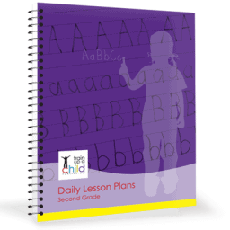 second grade daily lesson plans cover