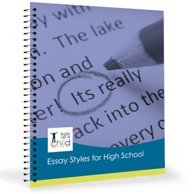essay styles for high school train up a child publishing essay