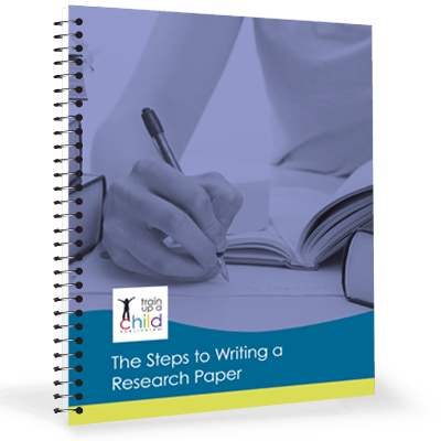 basic steps in writing research paper