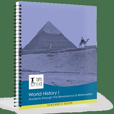 world history I teachers guide