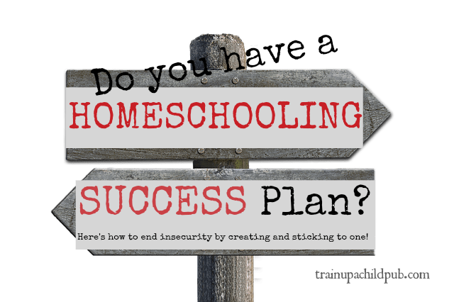 homeschooling success plan