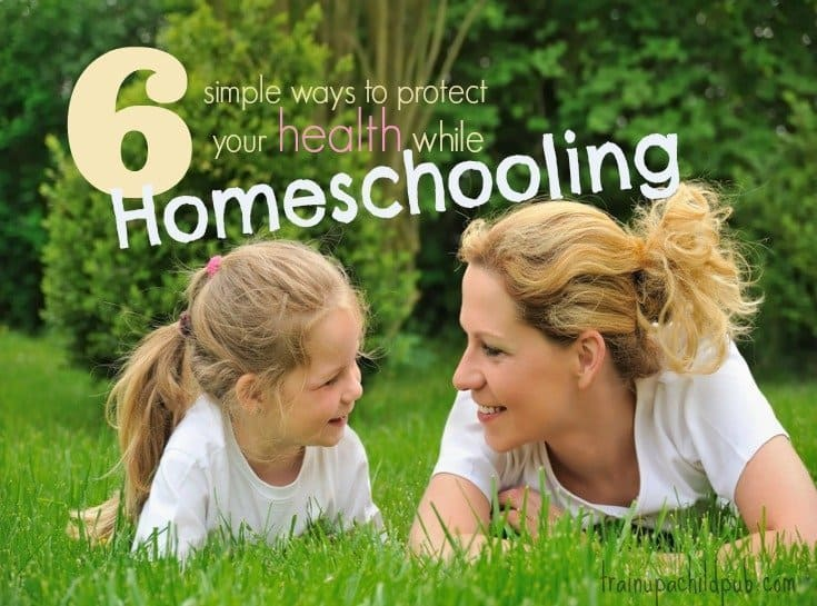 protect your health while homeschooling