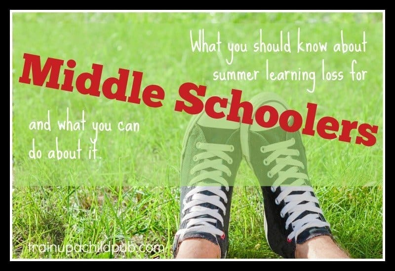 plan your summer break - middle school learning loss