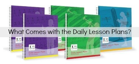 what comes with the daily lesson plans