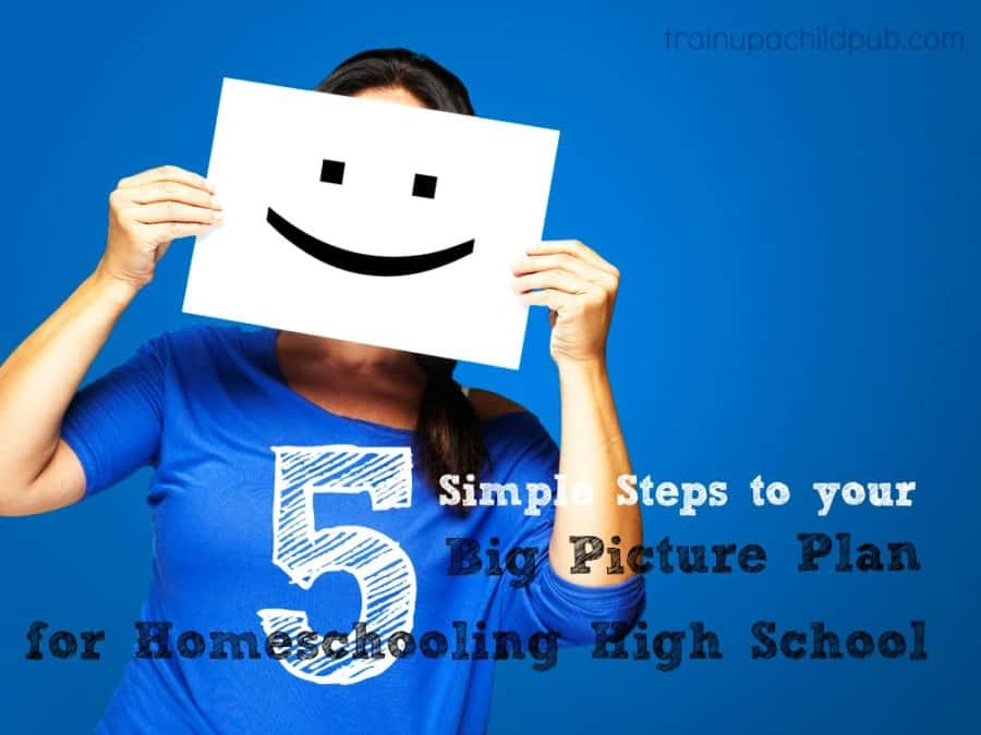 plan for homeschooling high school