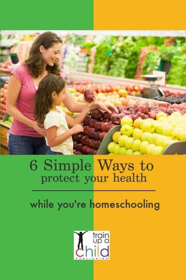 protect your health while you're homeschooling