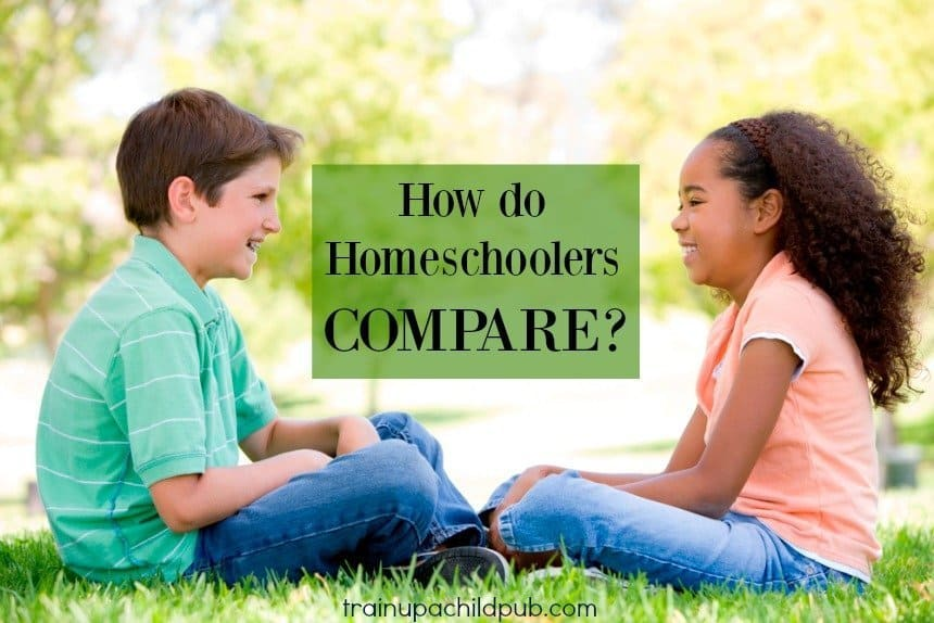 how do homeschoolers compare