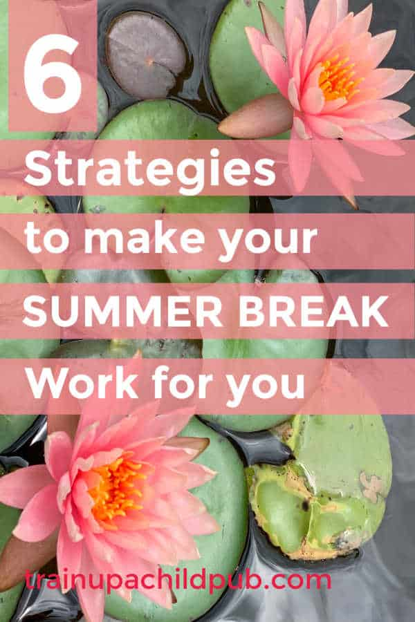 make your summer break work for you