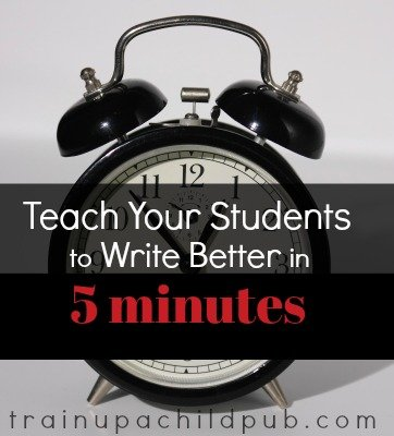 write better in 5 minutes
