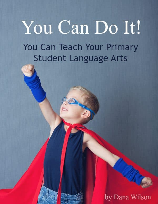 teach your primary student language arts