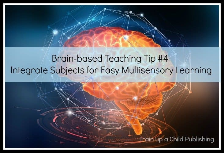integrate subjects for easy multisensory learning