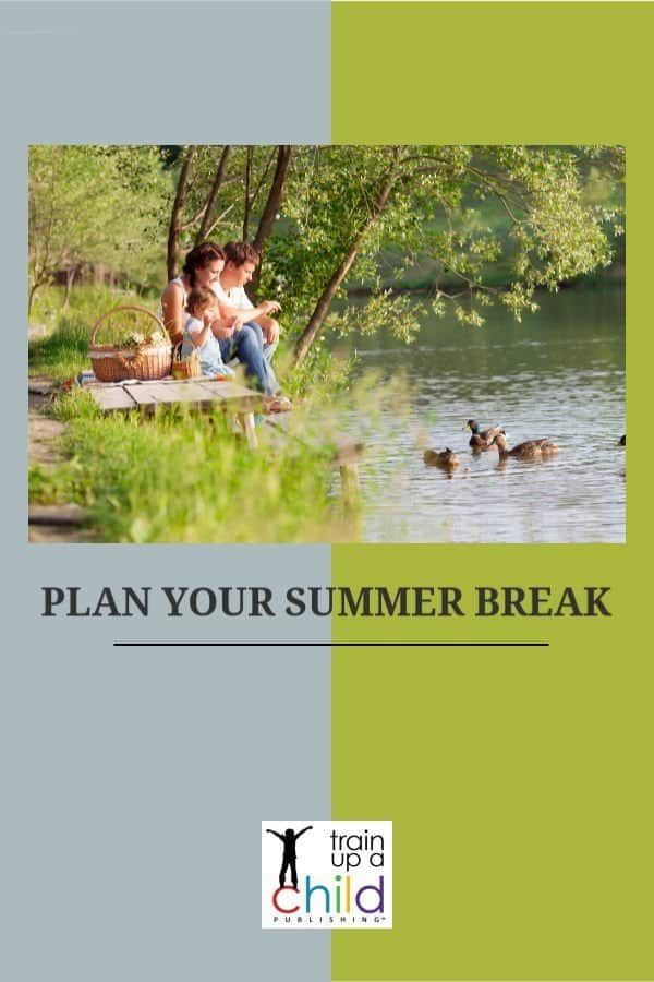 plan your summer break