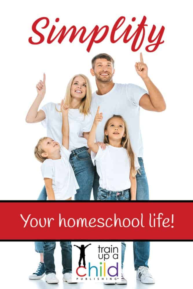 simply your homeschool life leads to happy family pictured