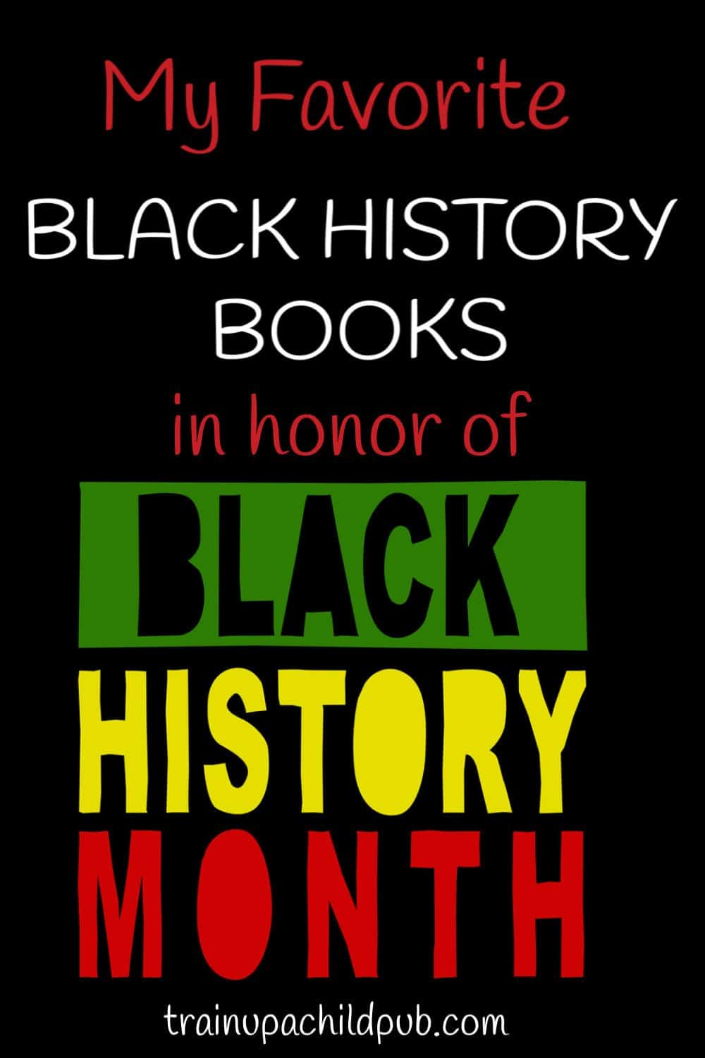 Black history books in honor of Black History Month