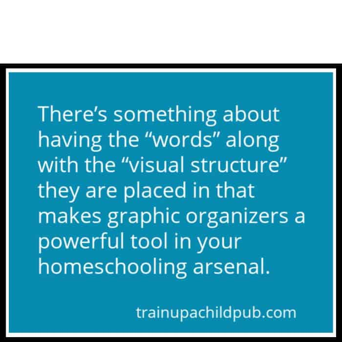 quote about graphic organizing turning on kids's brains