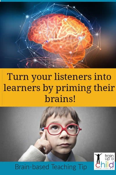 priming this child's brain leads to learning